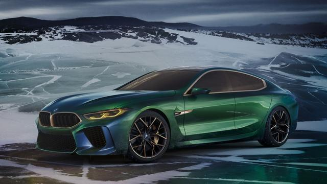 BMW toont Concept M8 Gran Coupe