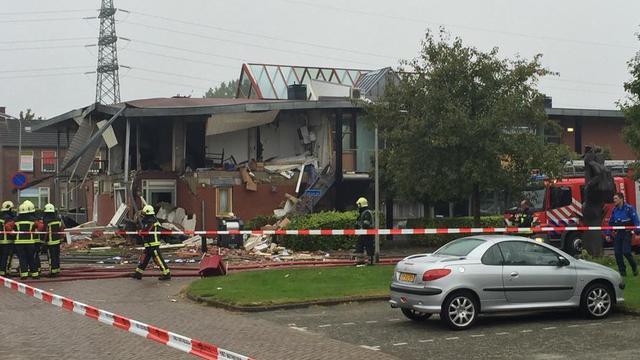 Zwaargewonde na explosie verzorgingstehuis Hoogeveen