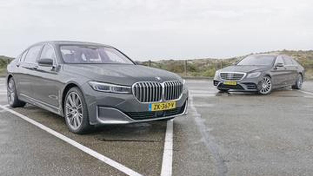 Eerste dubbeltest: BMW 745LE tegen de Mercedes S 560e