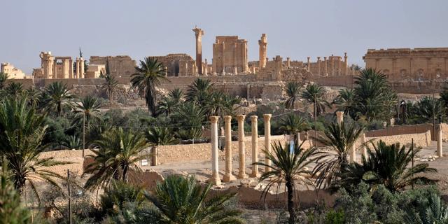 Luchtmacht Syrië voert aanvallen uit op Palmyra