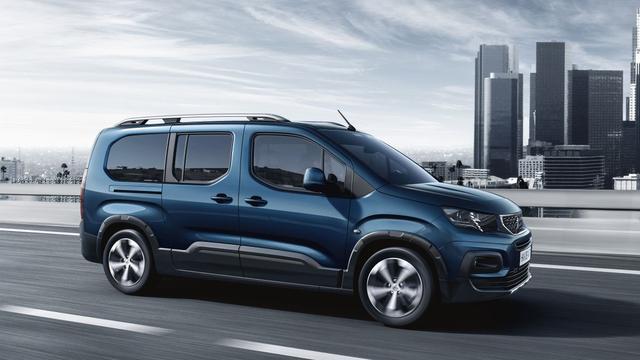 Rifter vervangt Peugeot Partner Tepee