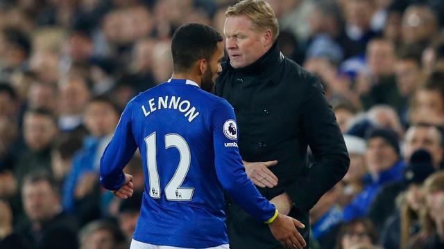 Koeman gunt opgenomen Lennon alle tijd voor herstel bij Everton