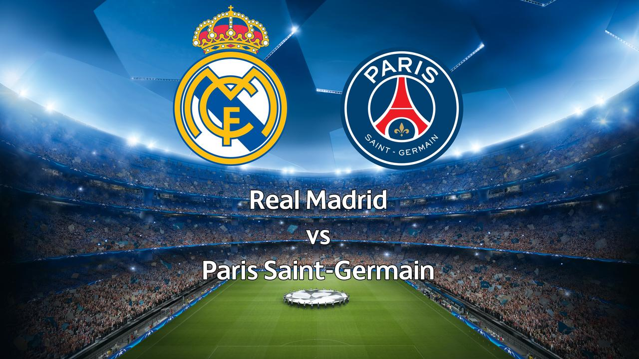 Live Champions League: Real Madrid-Paris Saint-Germain