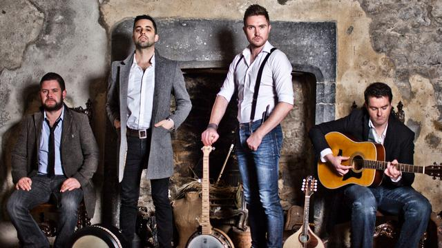 Ierse folkgroep The Kilkennys toert door Nederland