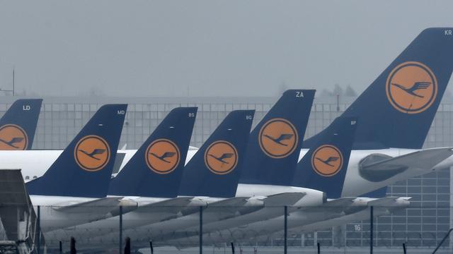 Pilotenstaking Lufthansa mag van rechter doorgaan