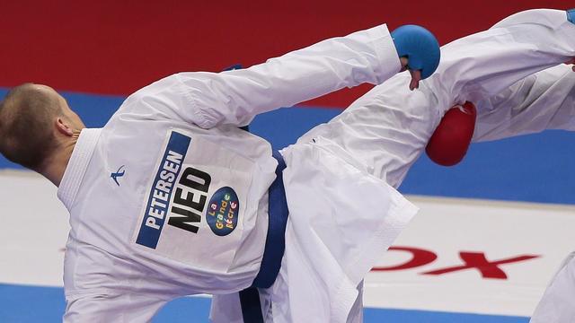 Brons voor karateka Petersen op EK in Turkije