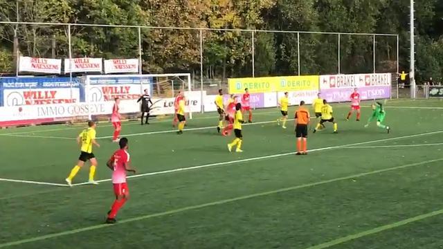 Keeper KRC Gent scoort in slotfase wedstrijd met omhaal