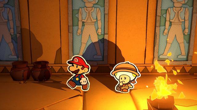 Review: In Paper Mario The Origami King vormen grappen het spelplezier