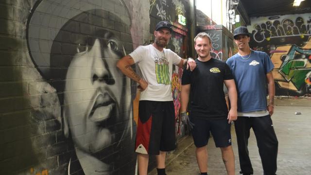 Grootste graffiti-jam van Nederland in Roosendaal