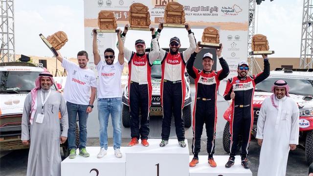 Alonso voor het eerst op podium als rallyrijder in aanloop naar Dakar