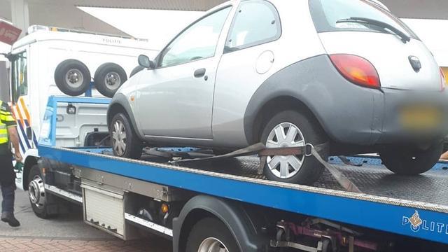 Automobilist verliest auto door openstaande boetes