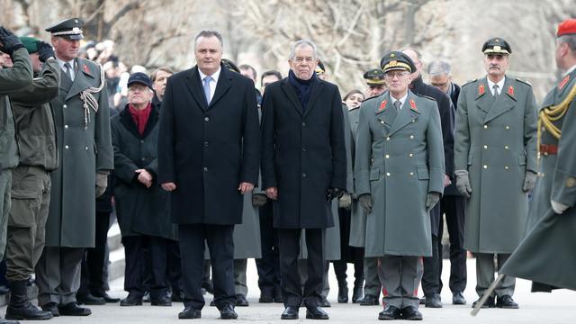 Van der Bellen geïnstalleerd als nieuwe president Oostenrijk
