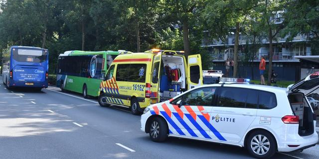 Traumahelikopter ingezet voor incident in bus Arriva