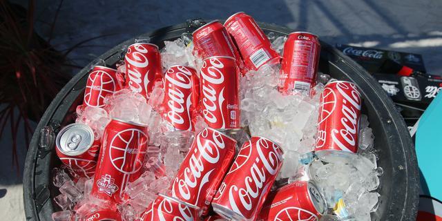 Coca-Cola heeft op de beurs amper last van actie Ronaldo
