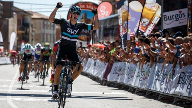Danny van Poppel wint ook derde rit in Ronde van Burgos
