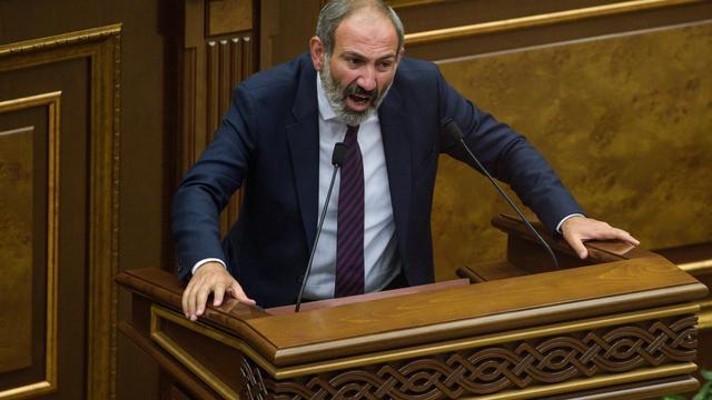 Leider demonstraties Armenië door parlement niet verkozen tot premier