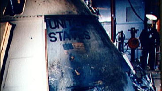 NASA onthult luik Apollo 1 vijftig jaar na fatale brand