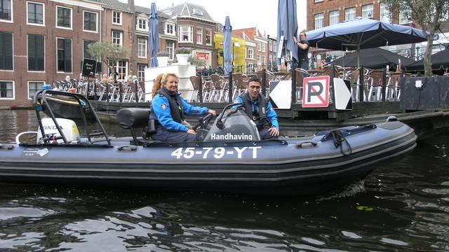 Waterpolitie controleert 100 vaartuigen