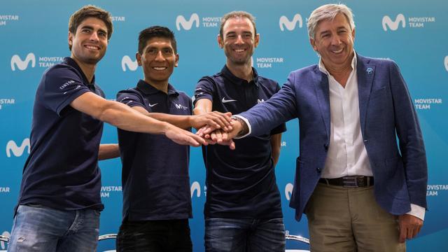 Movistar met Valverde, Quintana en Landa als kopmannen in Tour