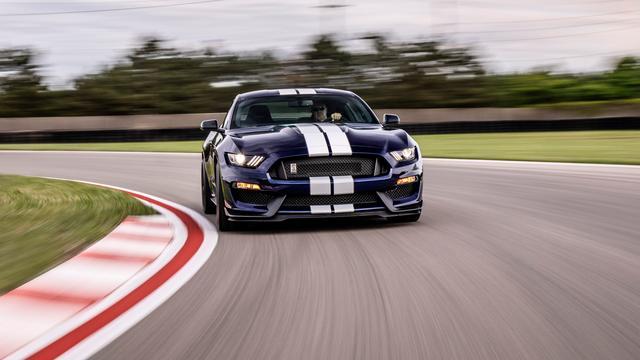 Updates voor Ford Mustang Shelby in Verenigde Staten