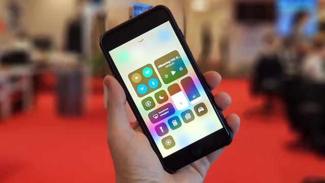 Apple brengt iOS 11 met vernieuwd bedieningspaneel uit