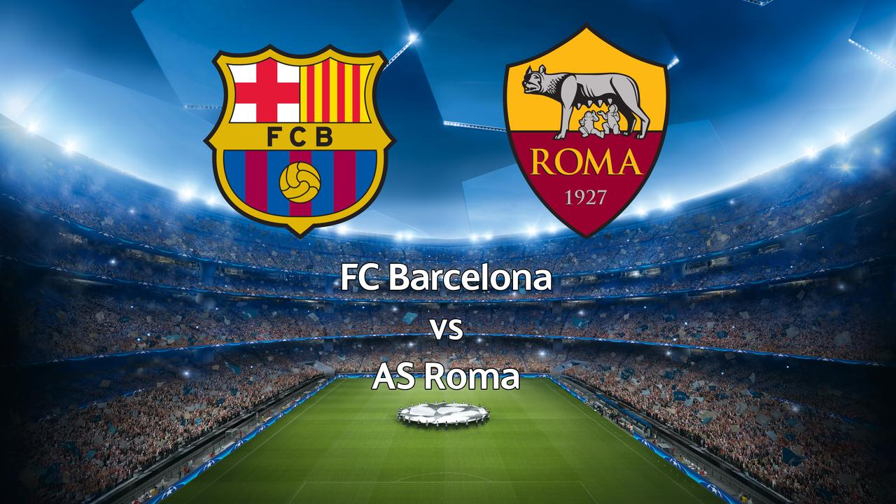 Live Champions League: FC Barcelona-AS Roma