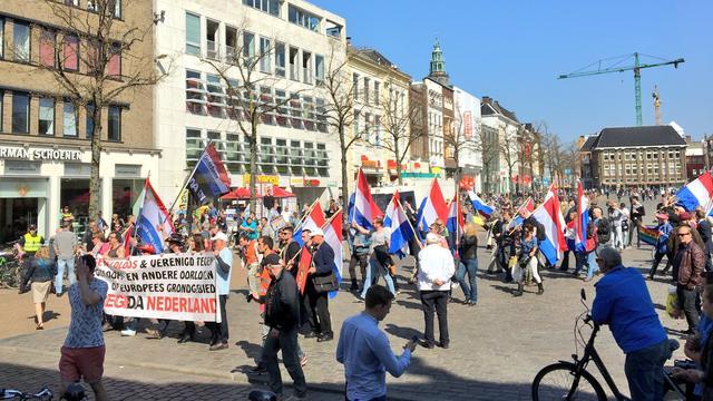 Arrestaties voorafgaand aan demonstratie Pegida in Groningen
