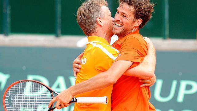 Davis Cup-team treft Zwitserland in play-offs voor wereldgroep