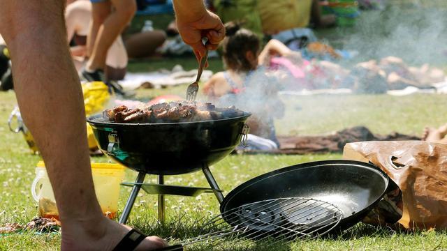 Bedorven vlees en poepbacterie in barbecuepakketten