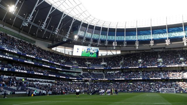 Eerste wedstrijd in nieuw stadion Tottenham Hotspur