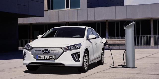 Grotere actieradius voor vernieuwde elektrische Hyundai Ioniq