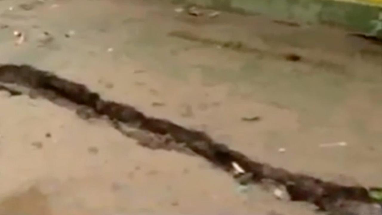 Schade in India door regen en onweer