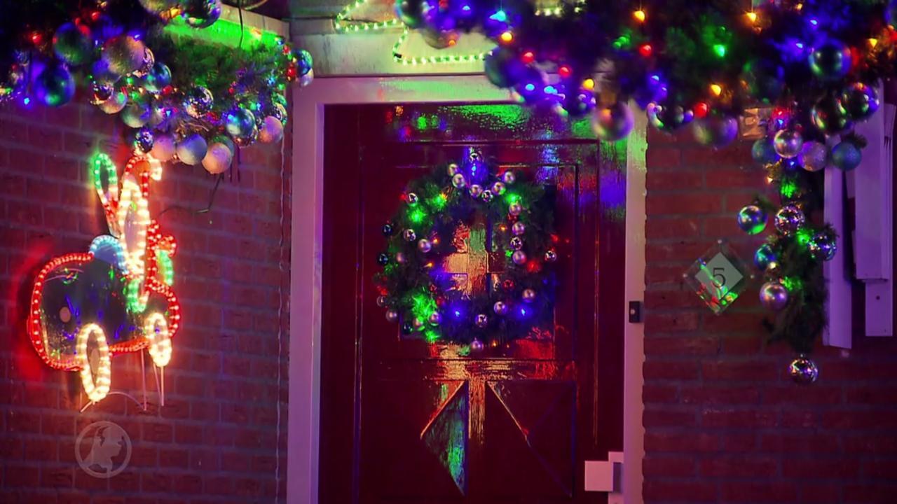 Kerstversiering van familie trekt bekijks uit hele buurt