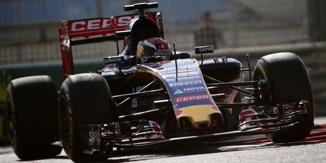 Dertiende tijd Verstappen tijdens tweede training Abu Dhabi