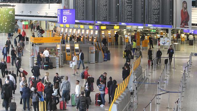 Luchthaven Frankfurt weer vrijgegeven na incident