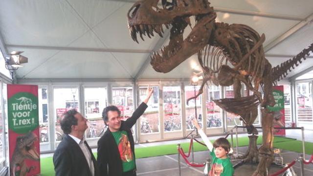Naturalis wil Tyrannosaurus Rex op wereldreis sturen