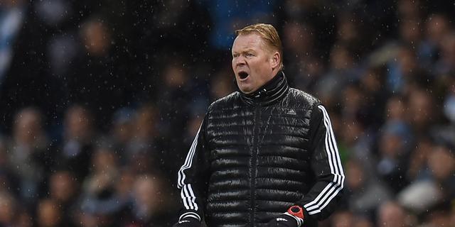Koeman baalt van persoonlijke fouten Southampton