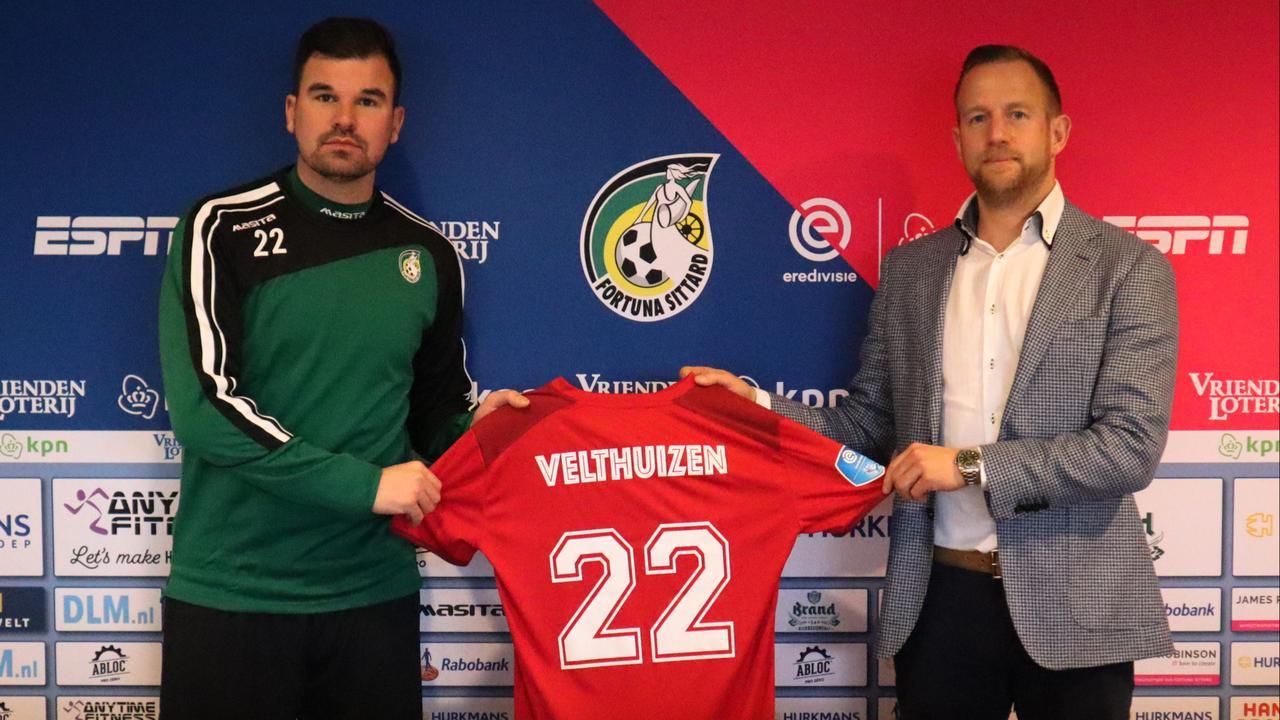 Velthuizen (34) lost keepersprobleem Fortuna op en keert terug in Eredivisie - NU.nl