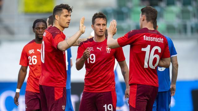 Zwitserland kon vaak juichen tegen Liechtenstein.