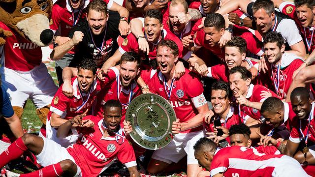 Fotoserie: Het onverwachte kampioenschap van PSV