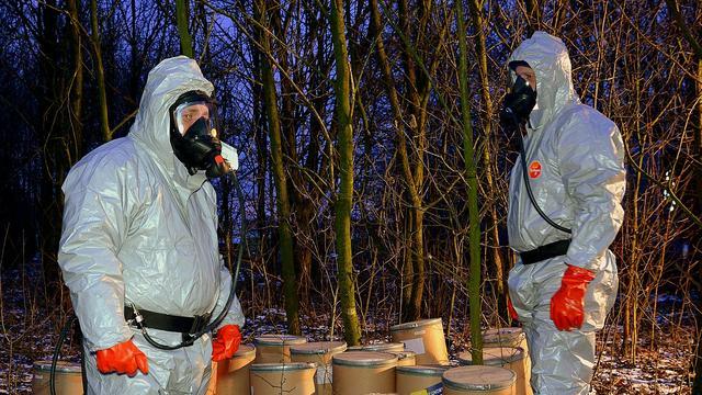 Politie vindt productieplaats voor chemicaliën hennepteelt in Breda
