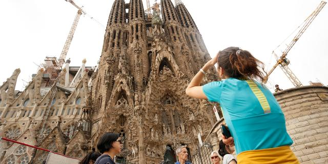Sagrada Familia in Barcelona wordt vanwege geldgebrek pas na 2026 voltooid