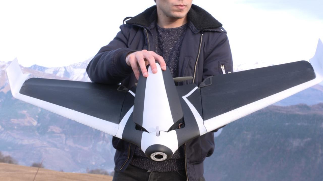 Parrot DISCO - Drone Prototype vluchten