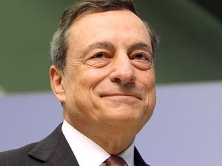 Draghi had het over een eventuele afbouw van het stimuleringsbeleid