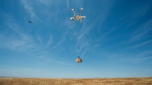 Google gaat boodschappen bezorgen met drones testen in Helsinki
