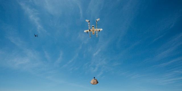 Onderzoekslab Google test luchtverkeersleiding voor drones