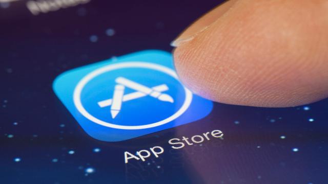 'App Store van Apple voor het eerst gekrompen in 2017'