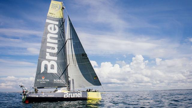 Brunel grijpt net naast overwinning in achtste etappe Volvo Ocean Race