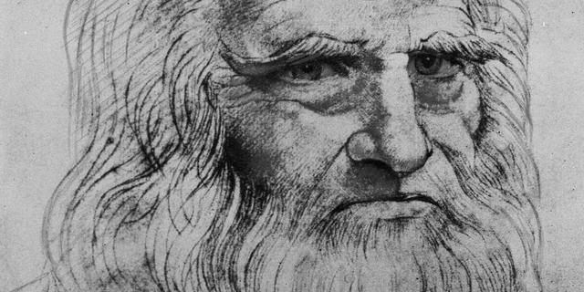 Nieuwe studie bewijst dat Da Vinci zowel links- als rechtshandig was