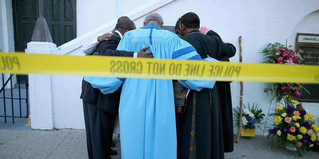 Brand in zes Amerikaanse kerken na schietpartij Charleston